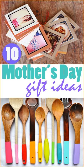 Easy Mothers Day Gift Ideas. Creative DIY Mother's Day gifts.