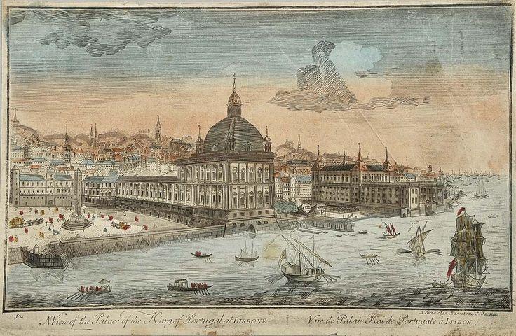 Lisboa gravura