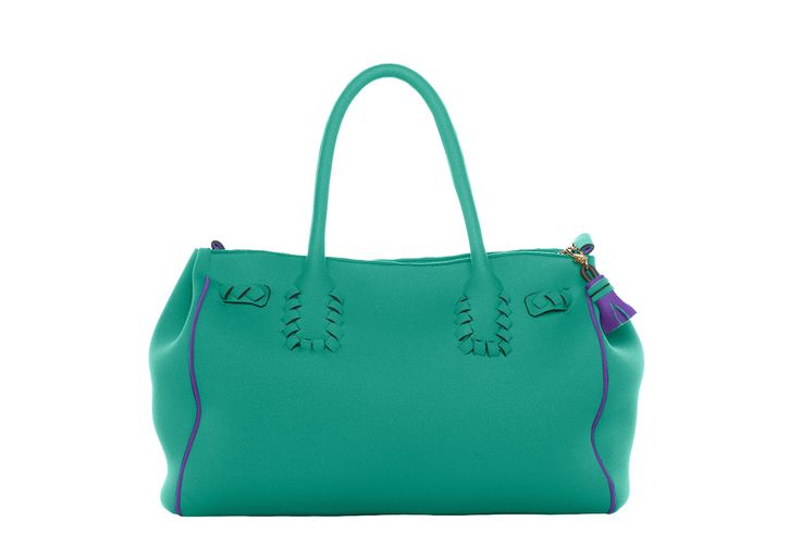 60 nodi bag spear mint and lilac