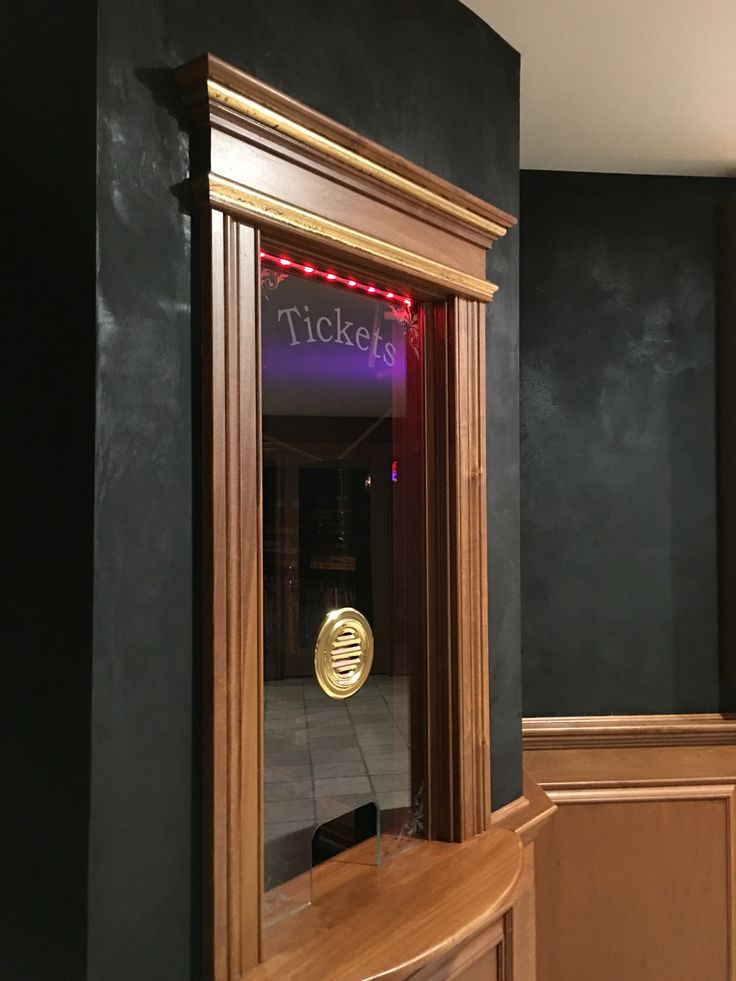 Ticket Booth For Home Theater Theatre Pinterest Home