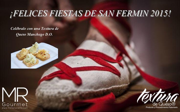 Felices Fiestas de San Fermin 2015 desde Quesos Pedro Pablo