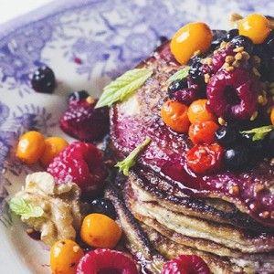 I Quit Sugar - Paleo Chia Seed Pancakes