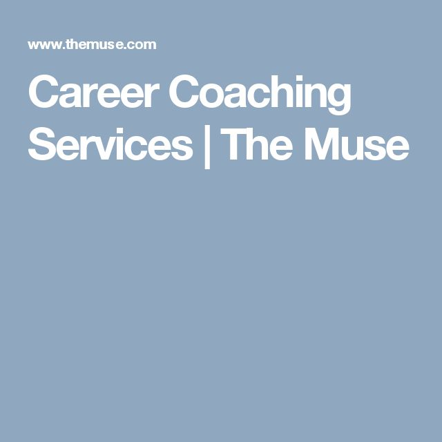 Career Coaching Services | The Muse