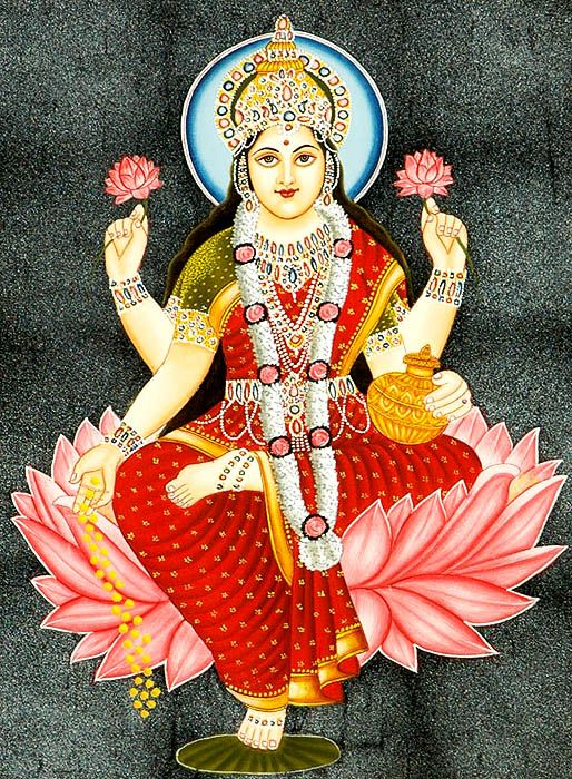 Lakshmi Goddess of Abundance