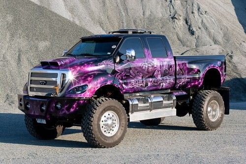 Custom Ford F-650 The beast! want this truck :D | Autos ...