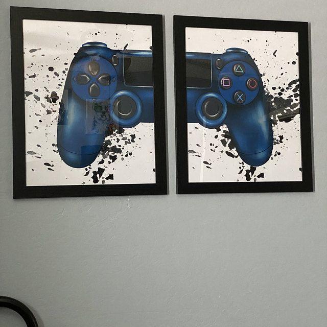 Gaming Wall Art Set of 2 Video Game Party Gaming Room Decor Video Game Print Video Game Wall Art Printable Gaming Wall Art Set