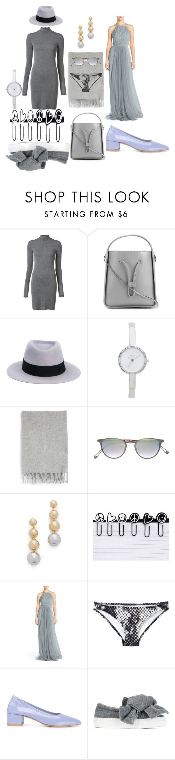 """""""Funcky fashions"""" by racheal-taylor ❤ liked on Polyvore featuring Gareth Pugh, 3.1 Phillip Lim, Maison Michel, DKNY, Acne Studios, Garrett Leight, Elizabeth and James, Peace Love World, Monique Lhuillier and Malia Mills"""