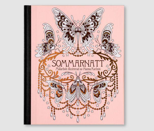 Sommarnatt - Coloring Book