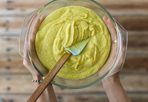Golden Cauliflower Mash | Changing Habits