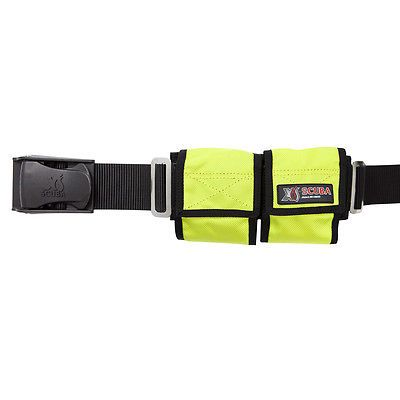Weight Belts 74004: Xs Scuba 4 Pocket Diving Weight Belt - Yellow BUY IT NOW ONLY: $44.95