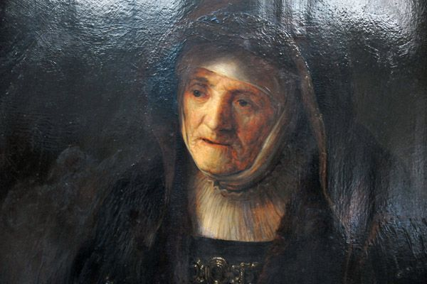 portrait of rembrandt mother - Google Search: