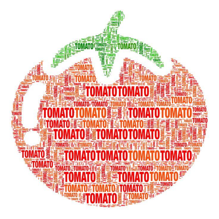 Wordificator Visual Word Art #wordificator #tomato