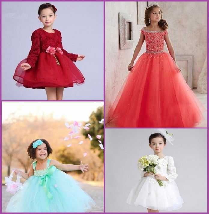 Dress up your little princess in the best party wear dresses and frocks for baby girls in India. These kids dress collection are pretty special occasion, birthdays and weddings.