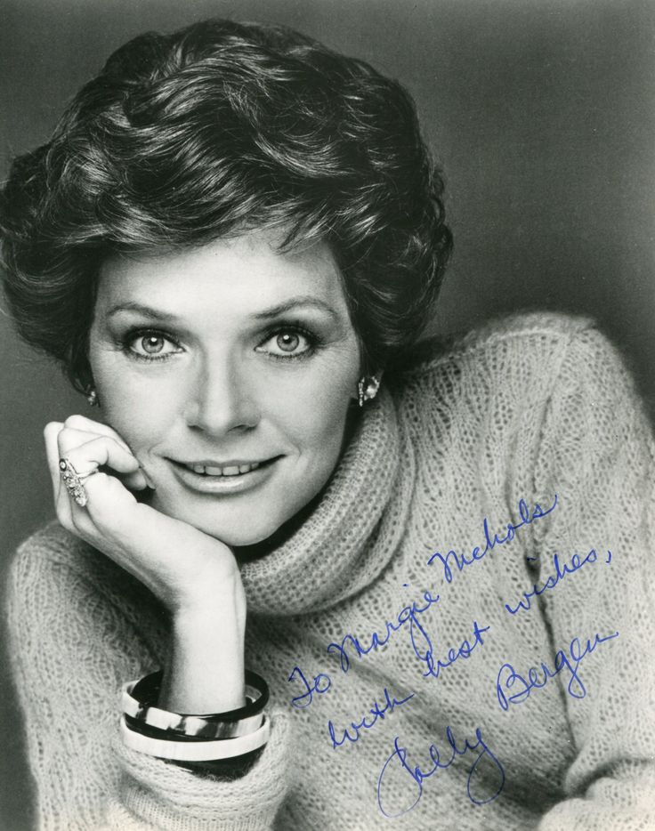 Polly Bergen - I remembered her when I was growing up.