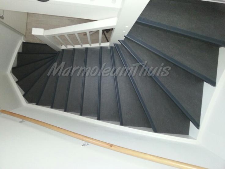 Marmoleum Fresco kleur 3872 antra trapneus