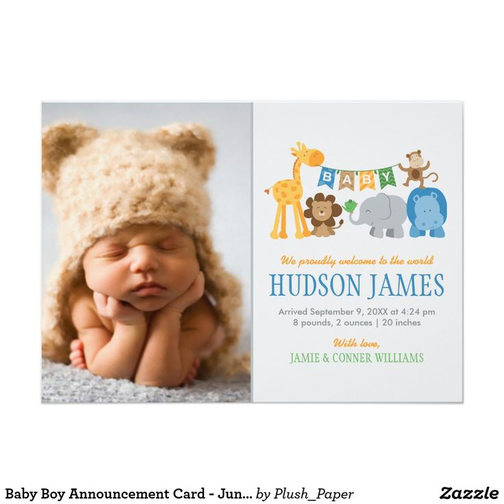 71 best Baby Birth Announcements images – Announcement of Baby