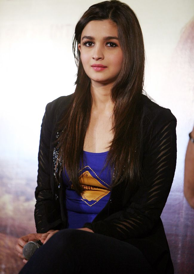 Alia Bhatt at the trailer launch of 'Highway' #Fashion #Style #Bollywood #Beauty