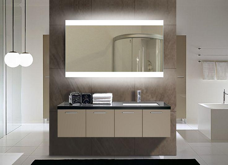 Best Of B Q Bathroom Mirrors: Best 25+ Backlit Mirror Ideas On Pinterest