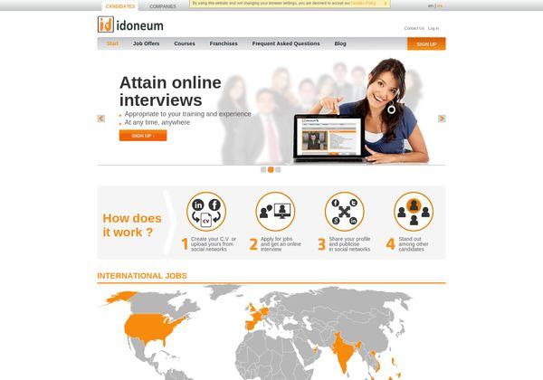 Tienen canal en Facebook con ofertas, además http://www.idoneum.com via @url2pin