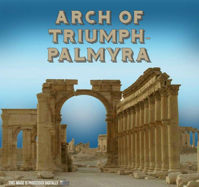 WHBC-GR: Οργή στην UNESCO για την ανατίναξη της Αψίδας του Θριάμβου στην Παλμύρα