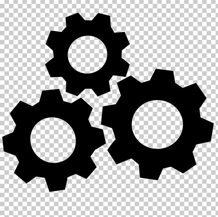 Computer Icons Black Gear Png Black And White Black Gear Business Circle Computer Icons Computer Icon Gears Icon Gear