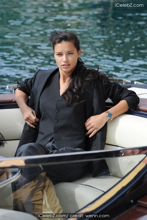 Adriana Lima and Karolina Kurkova in a photoshoot for luxury watch brand IWC with world renowned German photographer Peter Lindbergh in the picturesque resort of Portofino http://icelebz.com/events/adriana_lima_and_karolina_kurkova_in_a_photoshoot_for_luxury_watch_brand_iwc_with_world_renowned_german_photographer_peter_lindbergh_in_the_picturesque_resort_of_portofino/photo1.html
