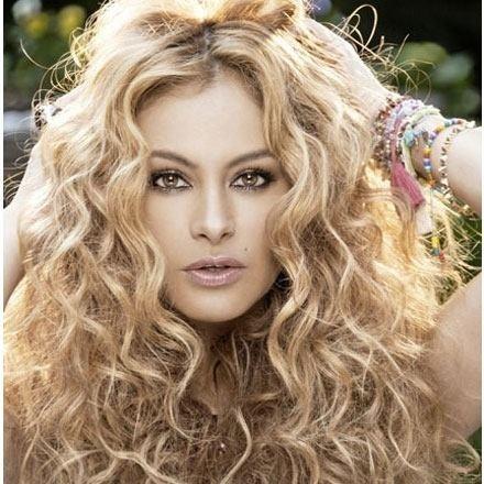 Paulina Rubio, cantante mexicana.