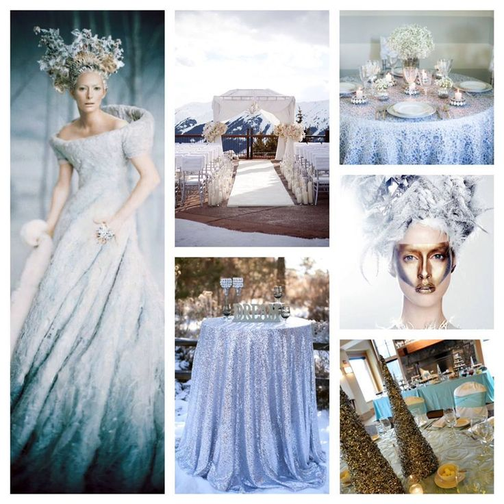 Fur, Feathers, Fringe...Frozen! Winter Wonderland will be a beautiful event trend this holiday season...love the mix of white, silver and ice blue hues! Have you placed your specialty linen rental yet?