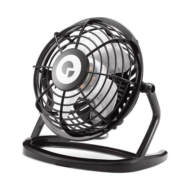 Digoo DF-001 Portable Mini USB Black Ultra-quiet Desk Cooling Fan Cooler For PC Laptop Notebook