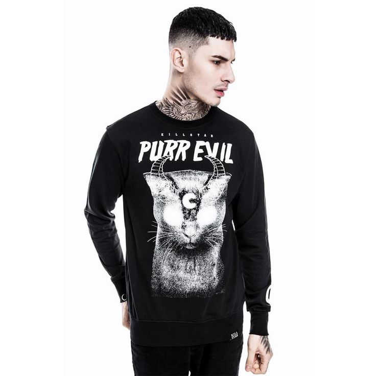 Purr Evil Unisex Sweatshirt – Brutalitees