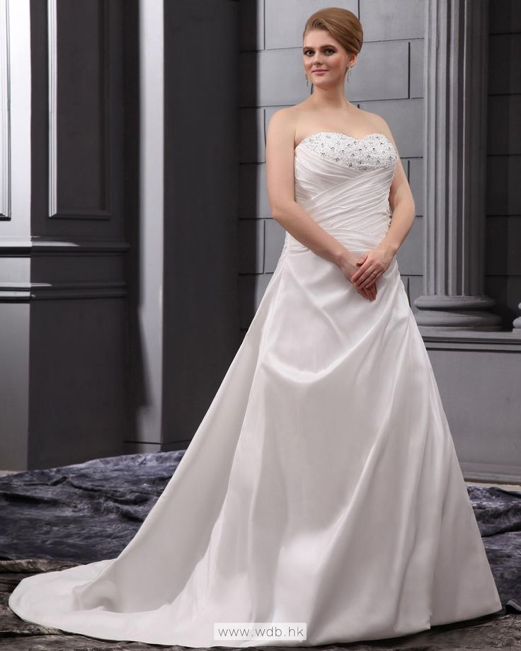 Sweetheart Court Plus Size Wedding Dress $291.98