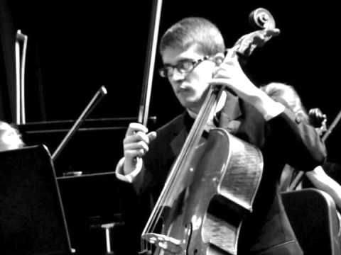 From: Eric Scott Bloom - My son Kyle on cello with The Tempe, AZ McClintock High School Orchestra. I think the entire orchestra sounds mellifluous throughout this excerpt. I also enjoy the way Ky brings his personality to his performance. Humor, joy, and confidence abound. I am blessed beyond words to have such a person in my life. He is an inspiration to me, our family...
