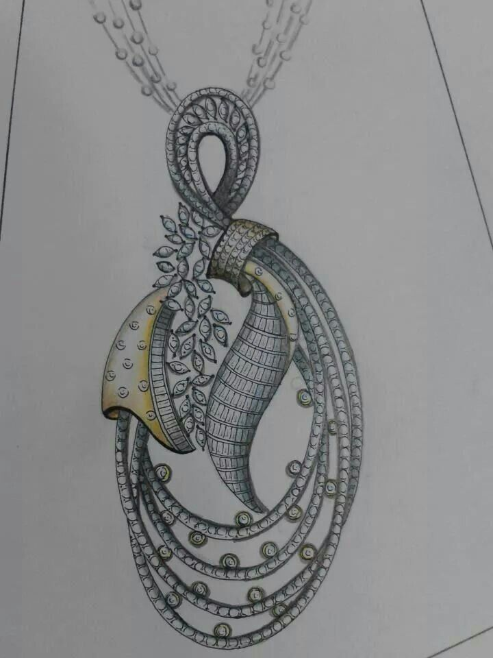 360 Best SKETCHES JEWELLERY Images On Pinterest | Drawing Drawings And Jewels