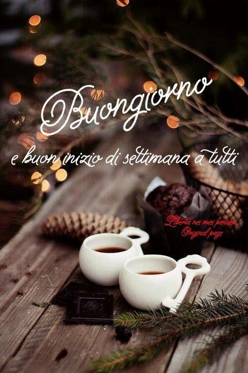 Buongiorno e buon inizio di settimana a tutti