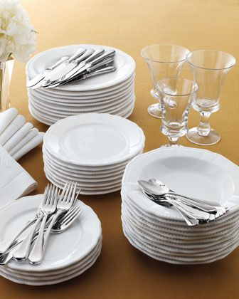 """The More The Merrier - """"Bistro"""" Dinnerware at Horchow."""