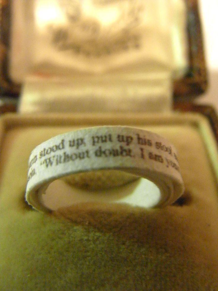 Printed ring