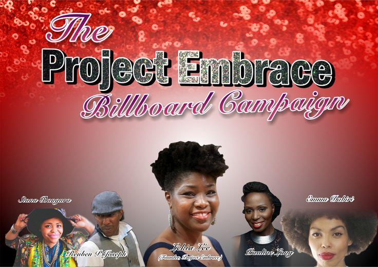 Natural hair billboard campaign - Meet the judges