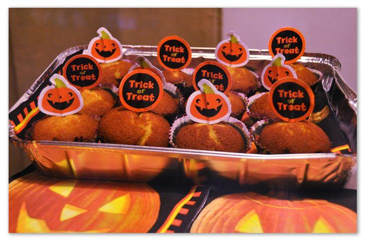 Muffin di Zucca #muffin #cupcakes #dolci #zucca #halloween #pinalapeppina
