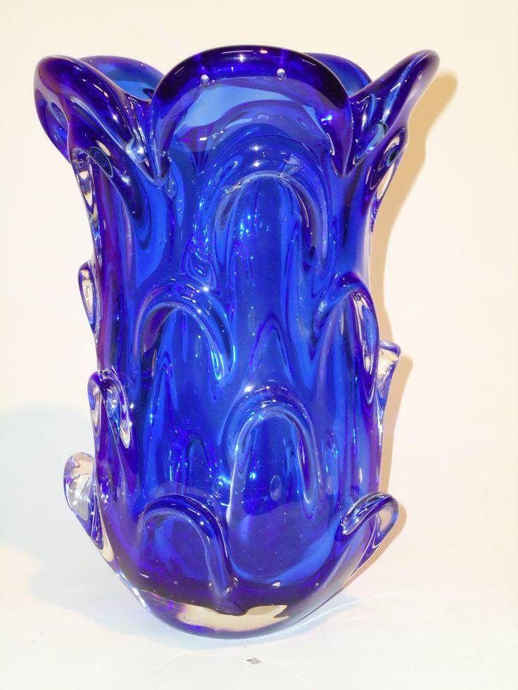 Murano Glass Cobalt Blue.