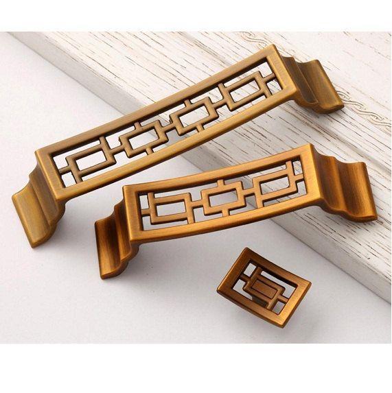 chinese style pulls knobs drawer handles antique brass kitchen cabinet knob pull handles antique symmetry door dresser drawer handle