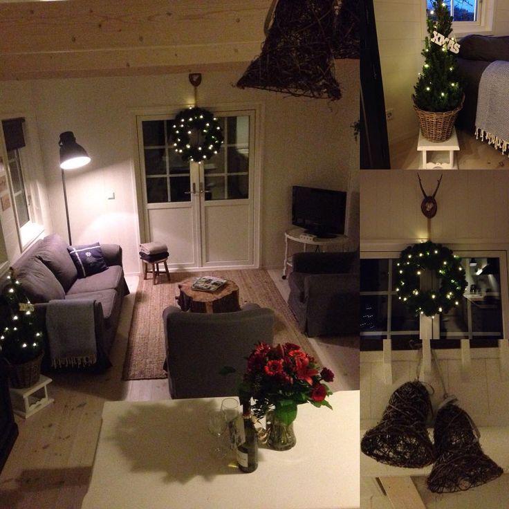 #sfeer #kerst #zeeland #winter #vakantie #donkerbuiten #uitslapen #gezelligheid #lichtjes