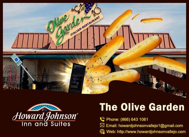 The Olive Garden are excellent dining options in Howard Johnson Inn & Suites. http://goo.gl/mMLDHz