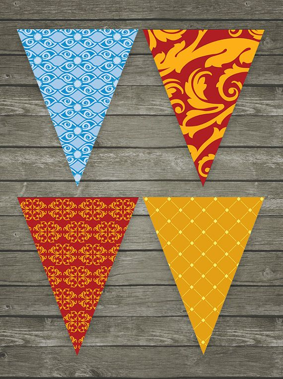 Carnival Themed Party Pennants Carnival by littlemagicprints