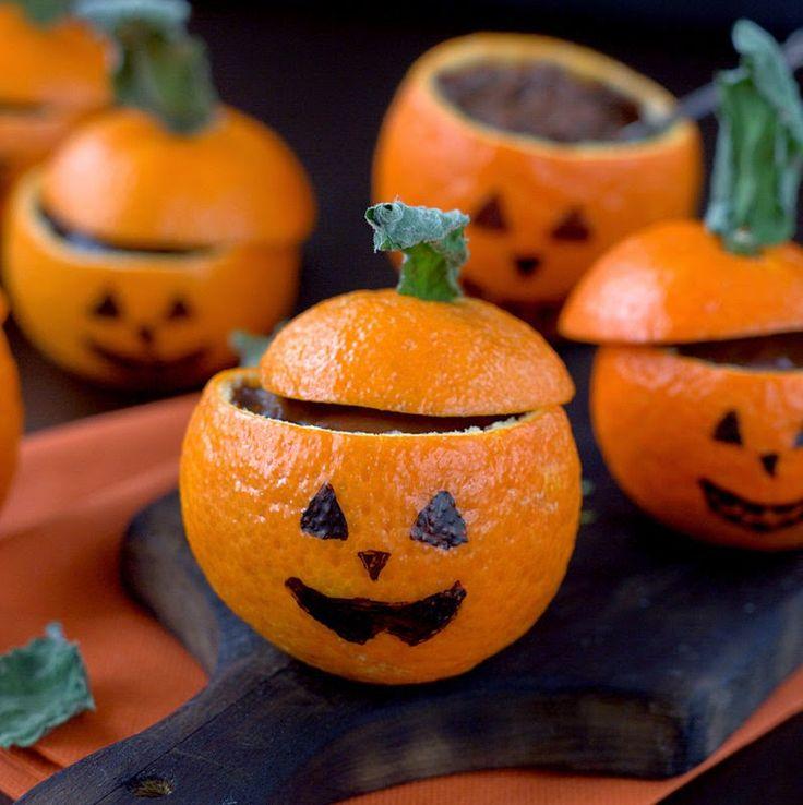 Gdy w brzuchu burczy... : Halloweenowy budyń czekoladowy