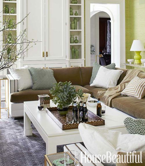 A Daring And Dramatic Home. Green Living RoomsGreen RoomsLiving Room ... Part 71