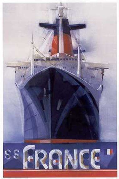 SS France - Poster