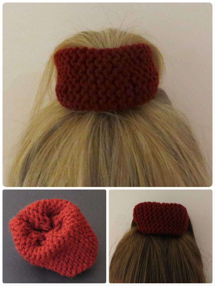 Firebrich - knitted hair scrunchie! Available @  https://abbeydrew.wixsite.com/abbeydoo