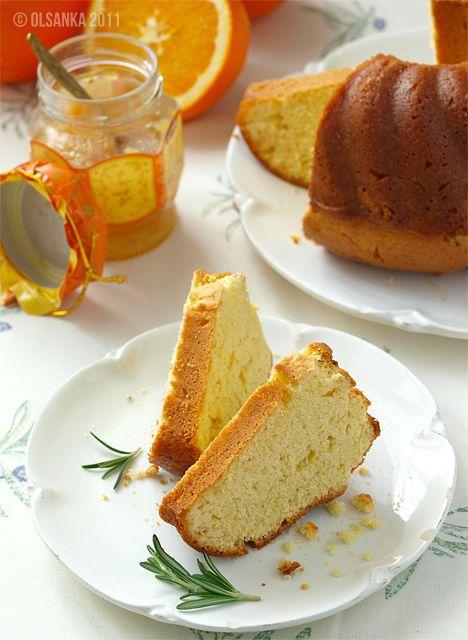Апельсиновый кекс с розмарином by olsanka, via Flickr