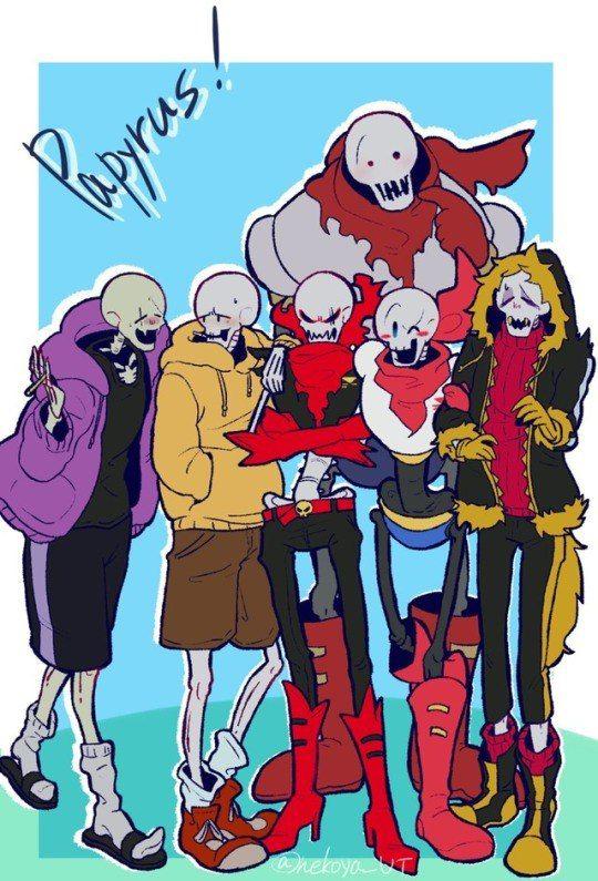 Horror papyrus always scares me....