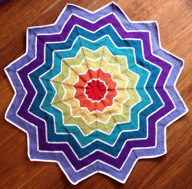 Wunderbar Häkeln Sterne Decke Muster Baby Zeitgenössisch - Nähmuster ...